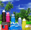 Food Grade Foldable Collapsible Squeeze Silicone Sports Travel Bottle