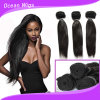 Top Virgin Hair Indian Remy Machine Weft Kinky Straight Human Hair