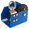 Cable/Strap Optional, Single or Split, Worm-Gear Winch (H-1500)
