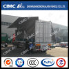 Cimc Huajun 3 Axle Van/Box Semi Trailer with Hydraulic Wingspan