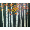 Modern Art High Quality Tree Landscape Oil Painting for Decor (LH-100000)