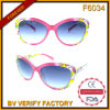 F6034 Wide Plastic Frames Ladies Style Occhiali Da Sole