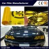 Self-Adhesive Yellow Color Car Headlight Film Car Tint Vinyl Films 30cmx9m