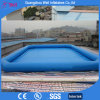 Blue Inflatable Water Pool for Floating Water Games Inflatable Tank