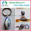 Customized 3D Ruby Ball Plastic Key Ring