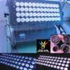 48X12W Outdoor City Color Flood Light LED Wall Price