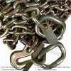 Grade70 Binder Chain with Clevis Security Grab Hook for Security Chain