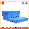 Foldable Plastic Transport Storage Box Container Cage (ZHtb31)