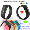 OLED Display Wristband Smart Silicone Bracelet with Heart Rate Monitor V6