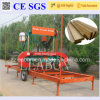 Wood Plank Making Horizontzal Mobile Bandsaw Sawmill
