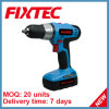 Fixtec 20V Li-ion Cordless Drill of Power Tool Hand Tool with CE, GS (FCD20L01)