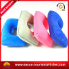 Flock PVC Inflatable Travel Neck Pillow