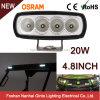 20W 4inch Osram Car LED Flood Light for Tractor Caterpillar John Deere (GT1012-20W)