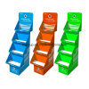 Advertising Paper Full Color Exhibition Pop Cardboard Display Rack