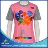 Custom Digital Sublimation Printing Girl's Lacrosse Short Sleeve T Shirt