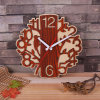 Wood Clock Simple Clock House Supplies Time Creative Wood Clock