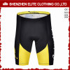 Good Quality Custom Made Yellow and Black Cycling Pants (ELTCSI-19)