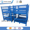 Logistics Stackable Folding Metal Wire Mesh Pallet Cage