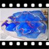 Blue Platter Blow Glass Ornament for Decoration