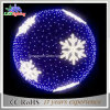 Christmas Hanging Colorful Rattan Ball Lights