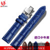 Yxl-453 Italian Calf Genuine Leather 22mm Watchband Classic Watch Band for Men