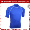 Cheap Wholesale Plain Blue Rash Guards Men Summer (ELTRGI-6)