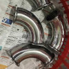 3A Stainless Steel Sanitary Clamped Elbow