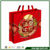 China Red Paper Gift Handbag for Packing Mooncakes