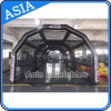 Inflatable Air-Sealed Cage Tent for Using at Team Practice
