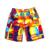 Low MOQ Sports Wear Dye Sublimated Funny Short Men's Beach Shorts