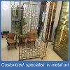 Decorative Metal Stainless Steel Room Divider for Hotel Restaurant