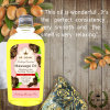 100% Pure Organic Refined Castor Oil for Hair Growth and Eyelashes and Eyebrows and Nails