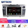 Witson Quad-Core Android 9.1 Car DVD GPS for Toyota Avensis 2008-2013 Support Full Video Output to Sub-Monitor Like Mirror Link