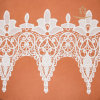 Fashionable High Quality 100% Cotton Heavy Big Swiss Voile Lace