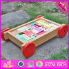 2016 Wholesale Fashion Wooden Blocks for Toddlers, Pull Car Designed Wooden Wooden Blocks for Toddlers W13c032