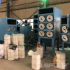 Downflow Horizontal Industrial Pleated Filter Cartridge Dust Collector Air Pollution Control