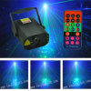 Christmas Mini Laser Light 350MW Rgbg 8gobos Laser and 3W Blue LED Light with Remote Control