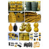 Earth Moving Komatsu Dozer Equipment Undercarriage Spare Parts