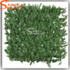 Wholesale Artificial Plastic Cypress Leaves Green Wall