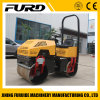 Hydraulic Double Drum 1 Ton Road Roller Compactor