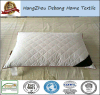 Home Fashion Soft Quilted Goose Down Pillow Cotton Cover