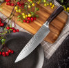 Kitchen Knife Ultra Sharp Hand-Forged Stainless Steel Chef′s Knife with Full Tang Handle