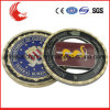 Diamond Cut Edge 2 Tone Plating Custom Souvenir Coins