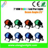 7 X 10W Mini LED PAR for Disco and DJ Lighting