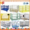 Industrial Stackable Galvanized Steel Storage Container Wire Mesh Cage (Zhra29)