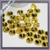 Brilliant Gold Yellow Star European Machine Cut Cubic Zirconia