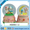 Lover Snow Globe Boy and Girl by Woodpile