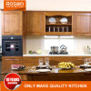 Hot Sale Cherry Natural Wood Kitchen Cabinets Furniture