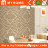 Ink Foaming Gold Wallcovering for Home Decor