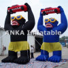 Custom Promotion Inflatable Gorilla with Car Character Cartoon